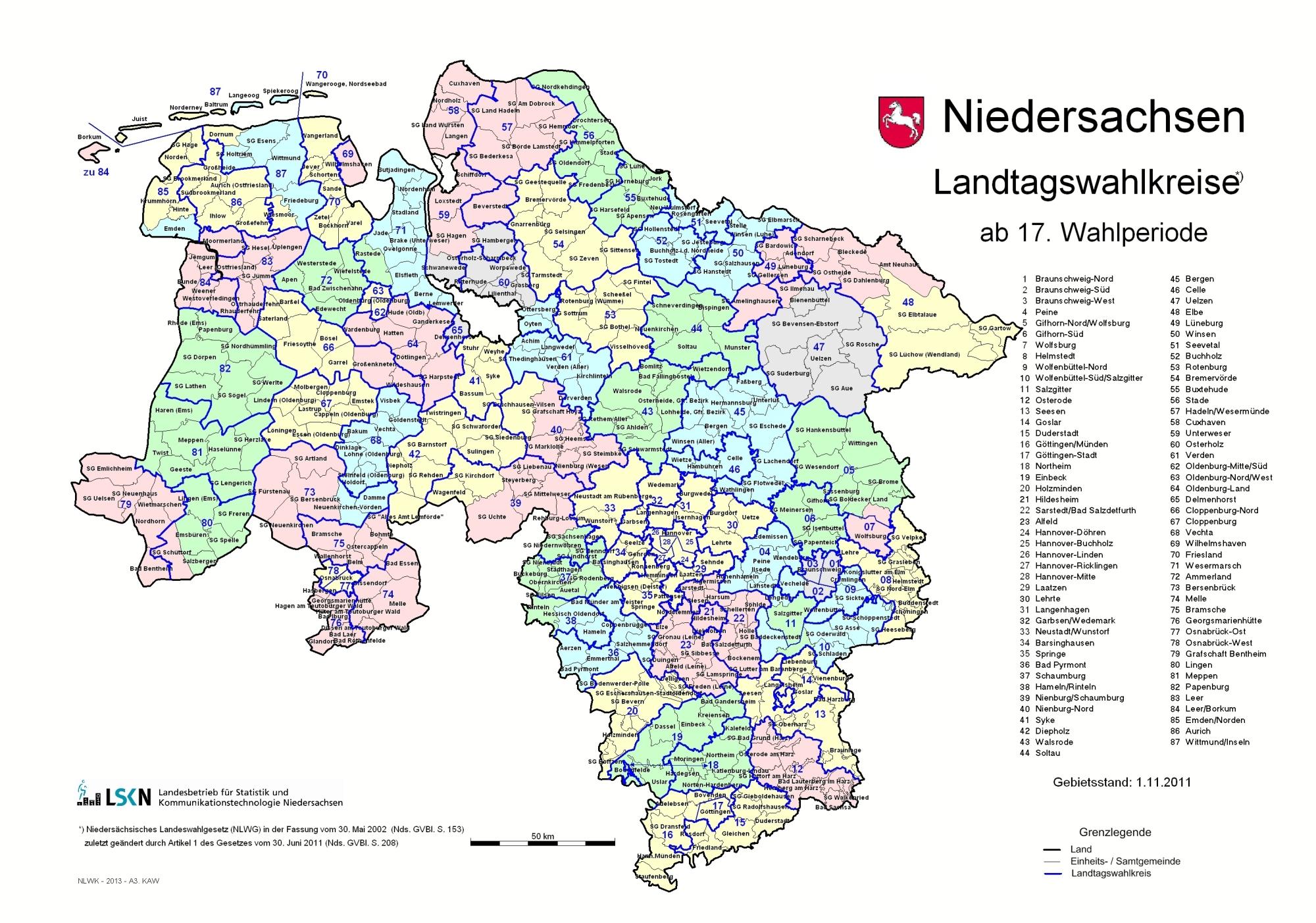 Die Wahl In Niedersachsen